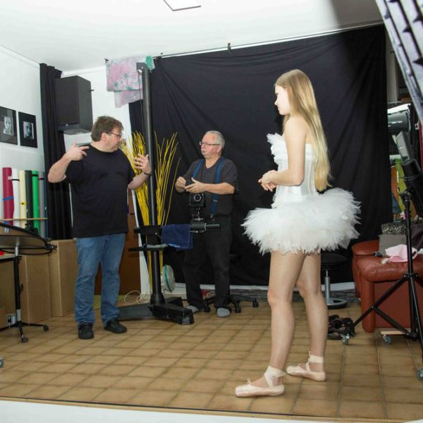 Making of Galerie – aus einem Shooting mit Raffaela
